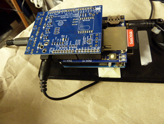 Emon Shield and Arduino